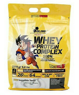OLIMP 100% PURE WHEY PROTEIN COMPLEX DRAGONBALL Z Ultimate Formula BCAA WPC