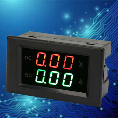 YB4835VA DC0~100V 20A Dual Display Integrated Voltmeter Amperemeter