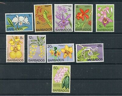 BARBADOS--Short Set Scott #396-#401,#403, #404c-#405 & #407 Cat. Val $20.30