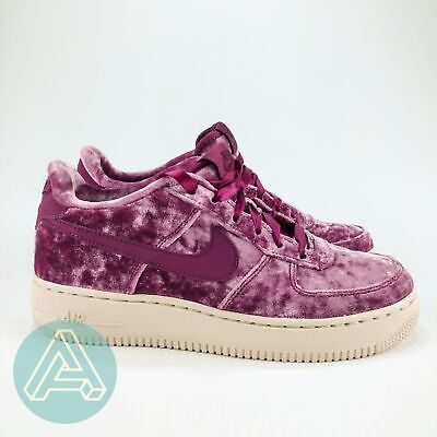 NIKE AIR FORCE 1 LV8 Velvet Tea Berry GS Shoes Girls 849345