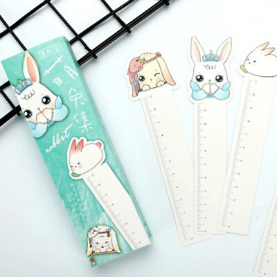 Cartoon Rabbit Paper Clips Magnetic Bookmark Book Mark Stationery Kids Gift DB