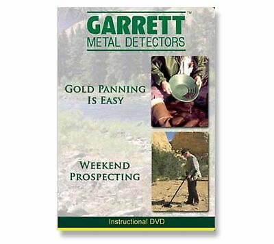 Garrett Gold Panning is Easy/Weekend Prospecting Instructional DVD 1678800