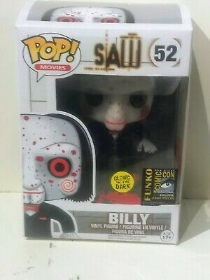 Funko Pop SAW. Billy SDCC RP Glow in the Dark GITD LE 2500