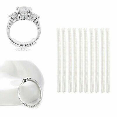 Engagement/Wedding Ring Resizer Resize Adjuster Size Snuggies 10cm Easy Fit
