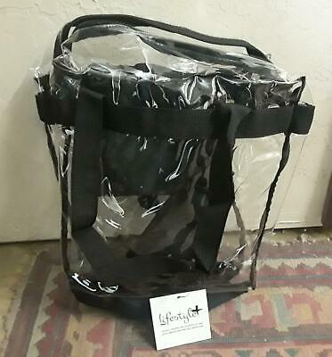Lot Of 18 Lifestyle Deluxe Stadium Approved Tote Bags. 12X12X6  (NEW). (430)