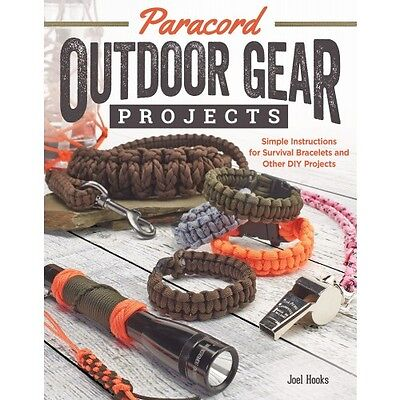PARACORD OUTDOOR GEER-Braiding-Knots-Macrame-Parachute Cord-Jewelry Craft Book