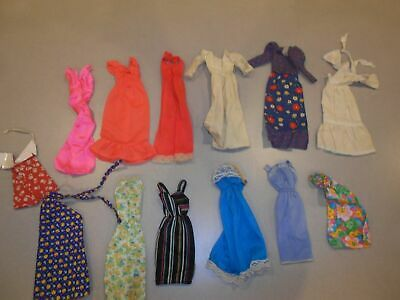 Vintage Barbie Best Buy Superstar Era Tlc Clothing Lot ~Many Clothes