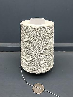 200G 2/30Nm 100% Silk Yarn Raw White Ecru