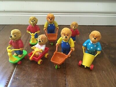 McDonald's 1986 Berenstain Bears happy meal toys complete set plus extras
