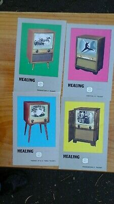 Healing Television Brochure and  3 Leaflets1950/60's.