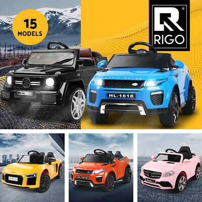 Rigo Kids Ride On Car 12V Electric Toys Remote Licensed / Inspired Cars Battery