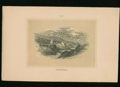Orig. Ton-Lithographie Isle of Wight, Steephill, 1859,  (ST1)
