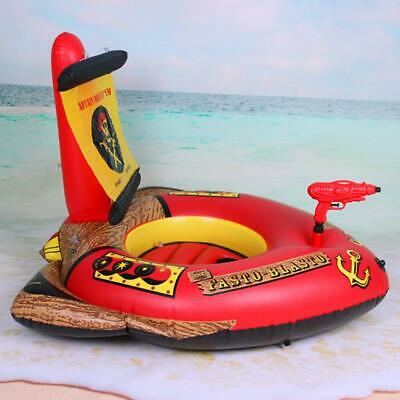 Pirate Boat Raft Swimming Pool Inflatables Float For Big Kids With