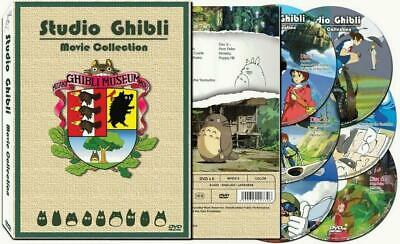 Hayao Miyazaki Studio Ghibli 17 Movie Collection DVD Set Box (6 discs) EnglishUS