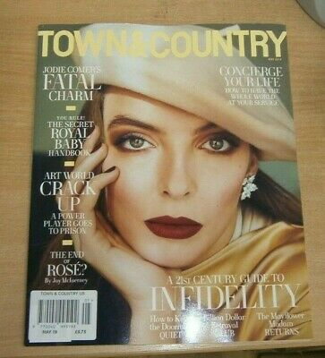 Town & Country (USA) magazine MAY 2019 Jodie Comer's Fatal Charm, Infidelity &