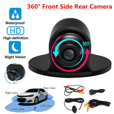 360° Car Rear Front View Backup Reverse Camera HD CCD CMOS Night Vision In UK