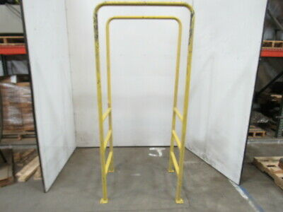 """30"""" BF 3 Step 36"""" Tall Conveyor Crossover Double Sided Ladder 78"""" OAL"""
