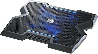 Cooler Master NotePal X3 - Laptop Notebook Cooling Pad Stand w/Blue LED Fan