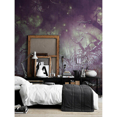 Wall Mural Enchanted Forest Fantasy Landscape Nursery Non