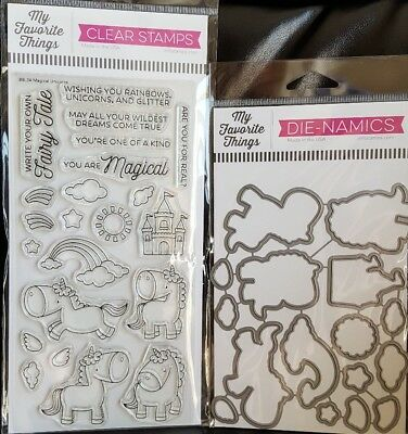 My Favorite Things Clear Stamps You Choose