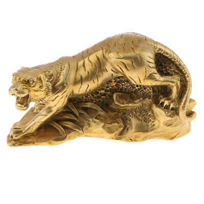Feng Shui Zodiac Animal Statues Chinese Shengxiao Tiger Sculptures Ornaments