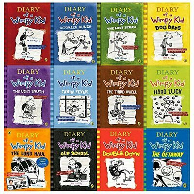 diary of a wimpy kid collection 12 books set (diary of a wimpy kid   Jeff Kinney