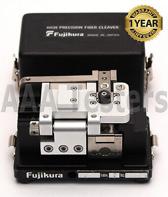 Fujikura CT-04 SM MM High Precision Fiber Optic Cleaver CT 04