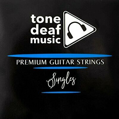 5 Pack of Electric or Acoustic Guitar Strings - 010 gauge Top E 1st single 10s