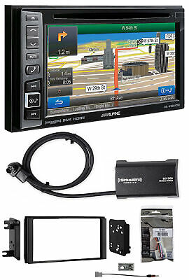 Alpine Bluetooth Receiver w/Navigation/GPS/DVD/XM For 2008-12 Subaru Impreza