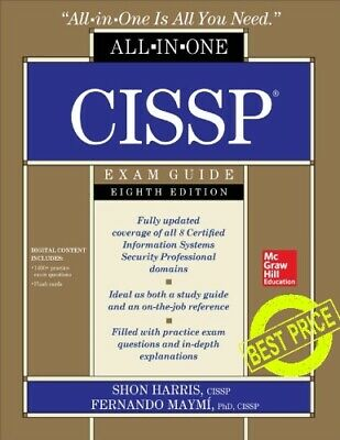 CISSP All in one Exam Guide 8th Edition [PDF] Fast Delivery