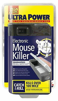 Ultra Power Electronic Electric Mouse Trap Rodent Killer Mice Zapper Trap