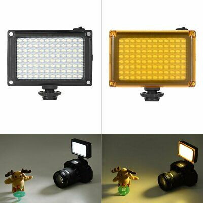 96LED Video Light Photo Camera Hot Shoe Dimmable LED Lamp For Camcorder DV