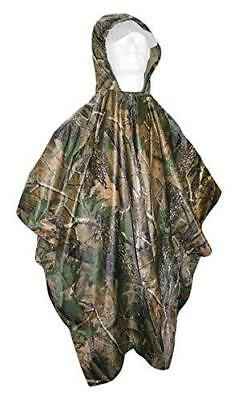 NGT Camuflaje Impermeable - Poncho Caza Pesca Senderismo Camping Aire Libre