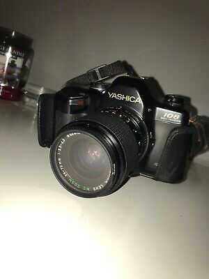 Yashica 108 Multi Program 35mm SLR Film Camera & 35-70mm lens.Free Warranty.