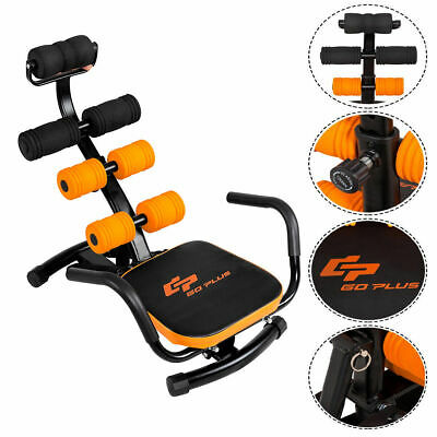 Core Ab Trainer Bench Abdominal Stomach Exerciser Workout Fitness Machine
