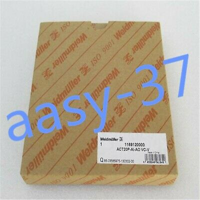 1 PCS NEW IN BOX Weidmuller isolator ACT20P-AI-AO VC-V 1169120000