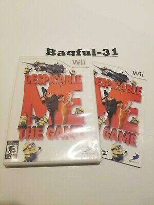 Despicable Me: The Game - Wii - Good Condition - W/Manual - Tested