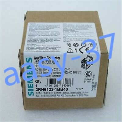 1 PCS NEW IN BOX SIEMENS contactor 3RH6122-1BB40