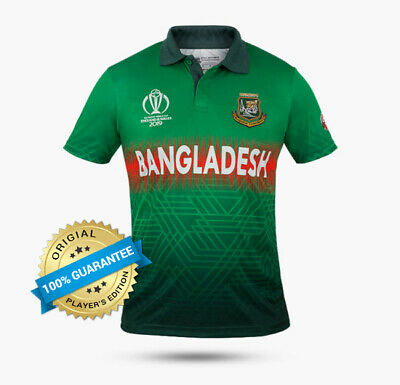 Bangladesh Team Jersey – Original Player's Edition – ICC World Cup 2019