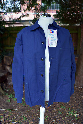 Vintage 80s BP Chore Mechanic Garage Jacket British Petroleum DEADSTOCK Goodwood