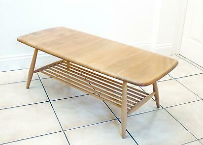 Excellent Classic Vintage Retro Ercol Windsor Coffee Table Light Finish 1970's