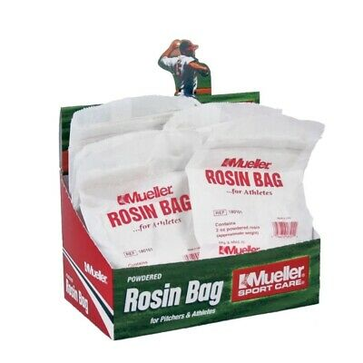 Mueller Powdered Rosin Bag for Pitchers & Athletes (12 Individual selling units)