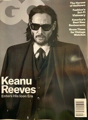 Gq Magazine - May 2019 -  Keanu Reeves -  No Mailing Label