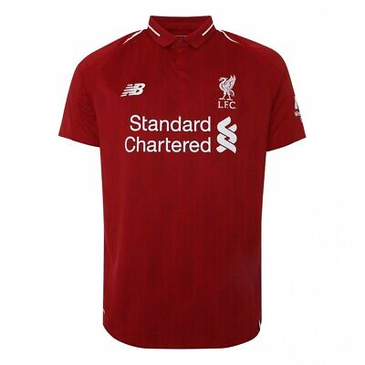 Liverpool Home Shirt 2018/19 Plain, M.Salah, Mane,Firmino,For Best Price £20.99
