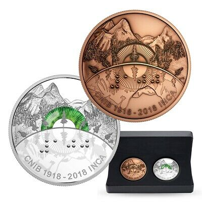 100th Anniversary of the CNIB - 2018 Canada $30 Fine Silver Coin