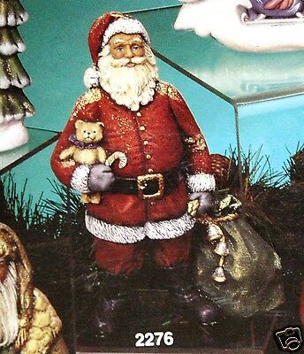 Ceramic Bisque Traditional Santa Kimple Mold 2276 U-Paint Ready To Paint