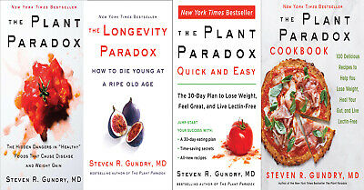 All 4 The Plant Paradox by Dr. Steven R Gundry M.D. PDF EPUB MOBI Fast Delivery