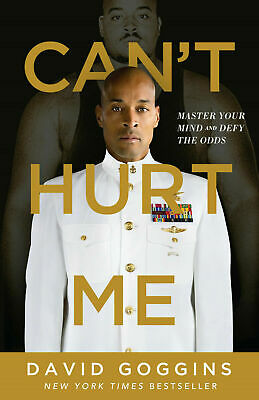 Can't Hurt Me: Master Your Mind and Defy the Odds Hardcover 2018 New Book, Fs