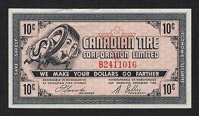 Canadian Tire Money - CTC Gas Bar notes - 3 different 10¢ - Series G05, G06, G07