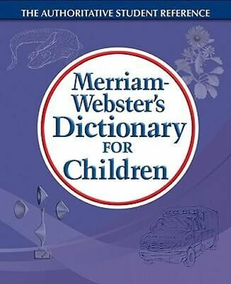 NEW M-W Dictionary for Children By Merriam-Webster Paperback Free Shipping